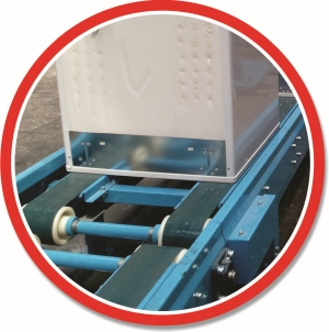 Banda transportoare PVC - transport produs interfazic