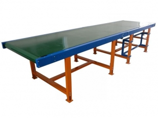 Conveior cu banda PVC - Ghidaj dublu lateral
