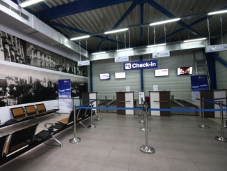 Aeroportul Iasi - Terminal 2 - Zona plecare si Zona sosiri
