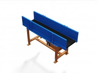 Conveior cu banda PVC - Logistica - Mantinele