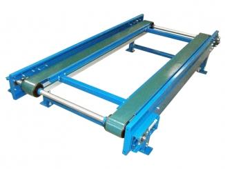 Conveior cu banda PVC - Structura Otel vopsit