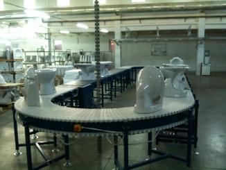 Cersanit - Conveior carusel pentru inspectie produse ...