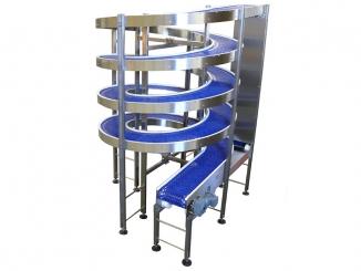 Conveior spiralat cu banda modulara - Spirala transport