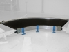 Conveior curb 90 grade cu latime 1.400 mm