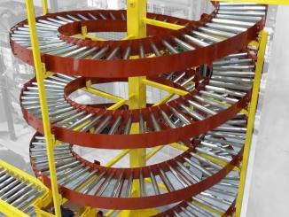 Spirala gravitationala cu role