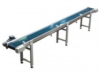 Conveior cu bandă PVC – structură aluminiu – ...