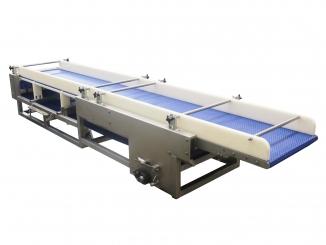 Conveior bandă modulară – structură inox - Extensibil